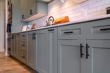 Shaker Gray Style Cabinets