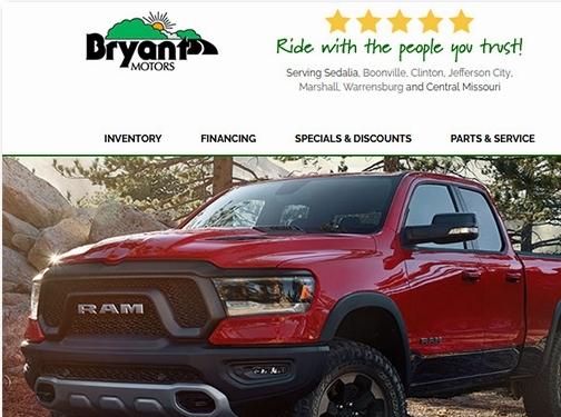 https://www.bryantmotors.com/ website