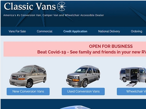https://www.classicvans.com/ website
